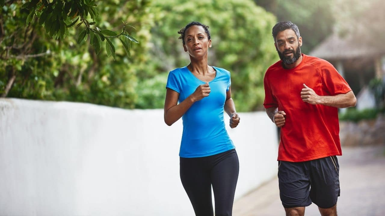 Regular exercise and physical activity help to keep a healthy weight.