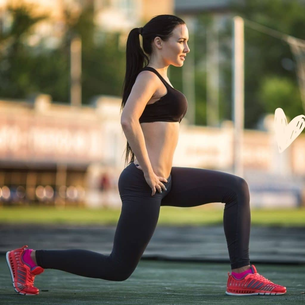 Do lunges exercise
